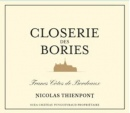 Chateau Puygueraud Closerie des Bories 2011