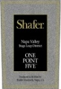 Shafer Cabernet Sauvignon One Point Five 2009