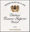 Chateau Beausejour Becot 2014