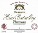 Chateau Haut Batailley 2012