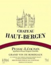 Chateau Haut Bergey rouge 2015