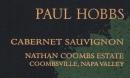 Paul Hobbs Cabernet Sauvignon Nathan Coombs Estate 2013