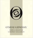 OShaughnessy Howell Mountain Cabernet Sauvignon 2013