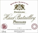 Chateau Haut Batailley 2015