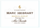 Marc Hebrart Champagne Mes Favorites Vieilles Vignes 1er Cru NV
