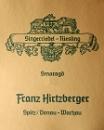 Hirtzberger Riesling Smaragd Ried Steinporz 2018