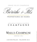 Bereche Champagne Mailly Grand Cru 2013
