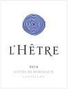 Chateau LHetre 2018 by Jacques Thienpont
