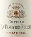 Chateau La Fleur des Rouzes 2018
