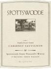 Spottswoode Cabernet Sauvignon Estate 2017