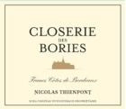 Chateau Puygueraud Closerie des Bories 2016