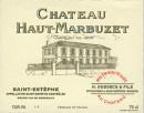 Chateau Haut Marbuzet 2018