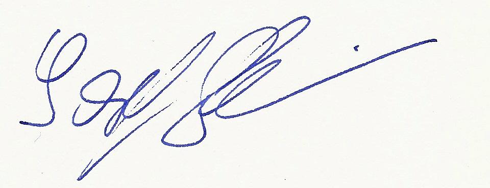 Unterschrift Josef Schreiblehner